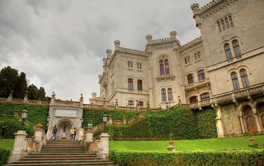 Miramare, Trieste, Italy by Ian Middleton