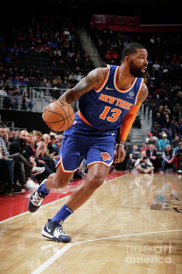 New York Knicks V Detroit Pistons Photograph by Brian Sevald