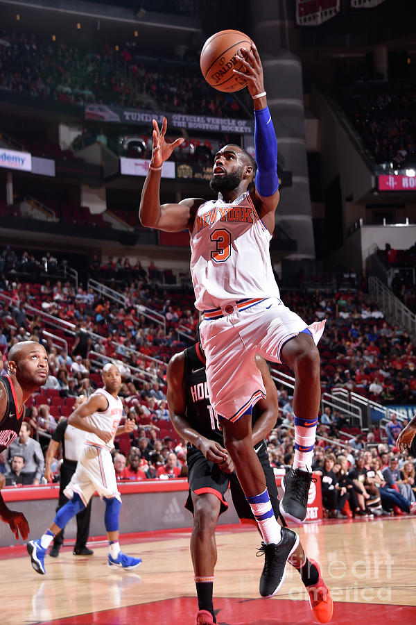 New York Knicks V Houston Rockets Photograph by Bill Baptist