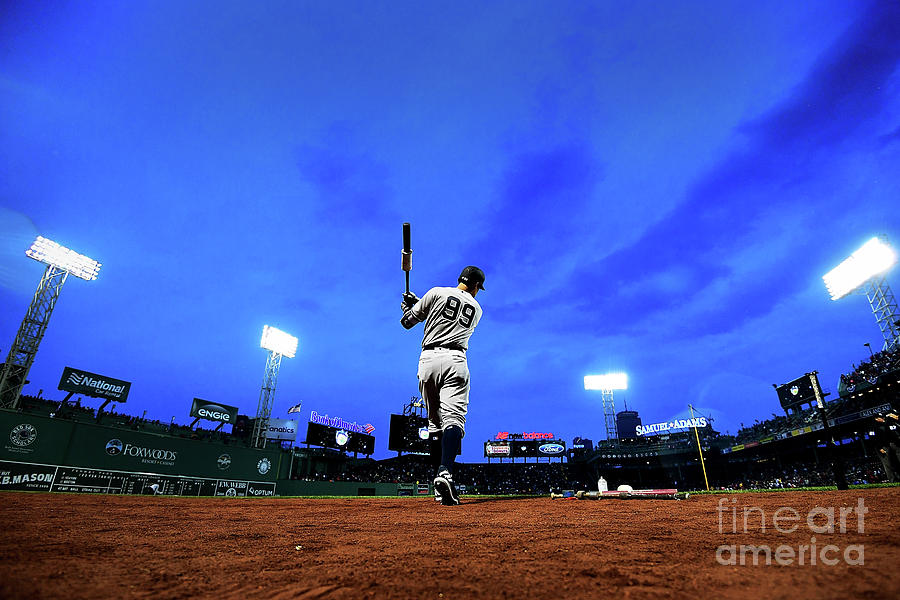 New York Yankees V Boston Red Sox Photograph by Adam Glanzman