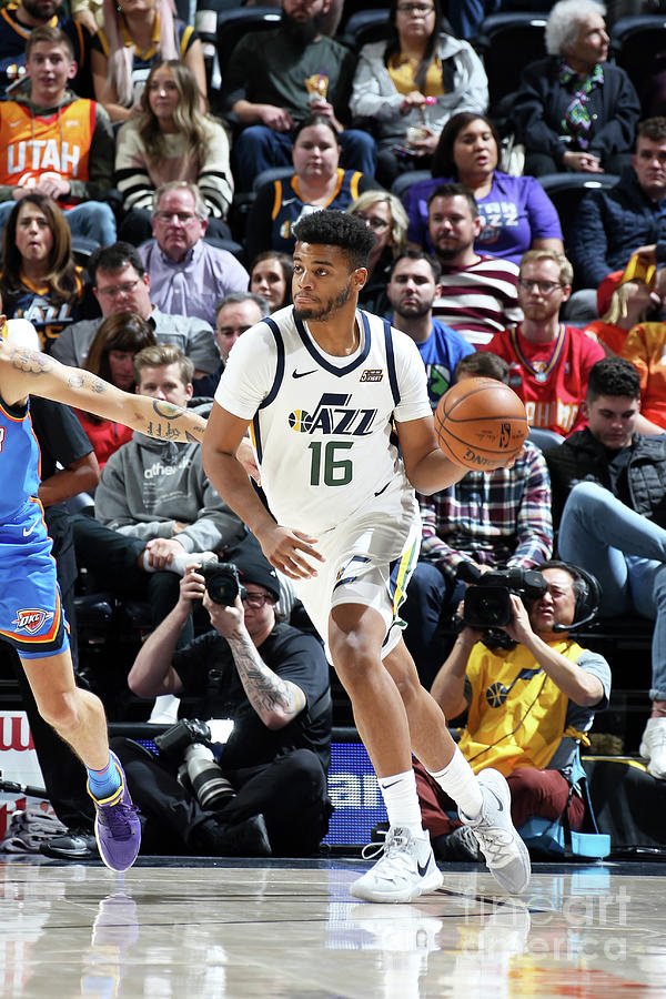 Oklahoma City Thunder V Utah Jazz Photograph by Melissa Majchrzak