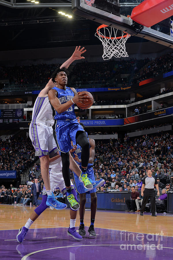 Orlando Magic V Sacramento Kings Photograph by Rocky Widner