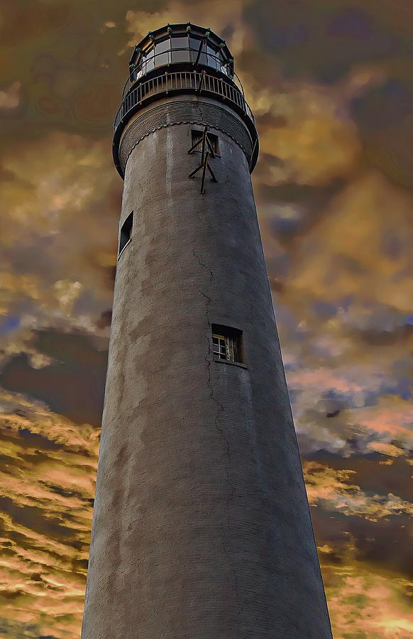 Pensacola Lighthouse by Anthony Dezenzio
