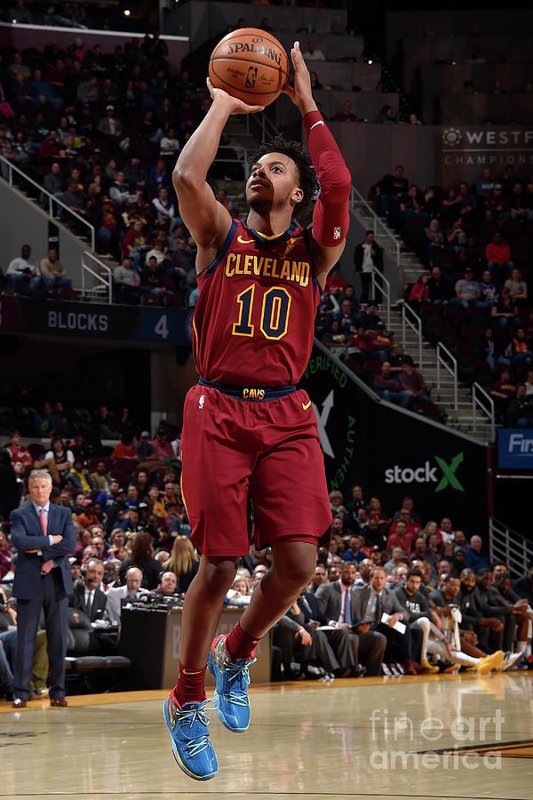 Philadelphia 76ers V Cleveland Cavaliers Photograph by David Liam Kyle