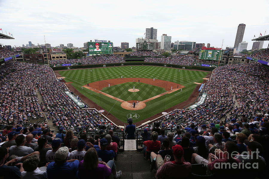 Philadelphia Phillies V Chicago Cubs Photograph by Jonathan Daniel