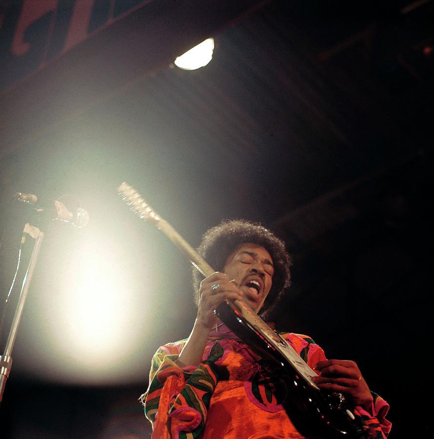 Photo Of Jimi Hendrix Photograph by David Redfern