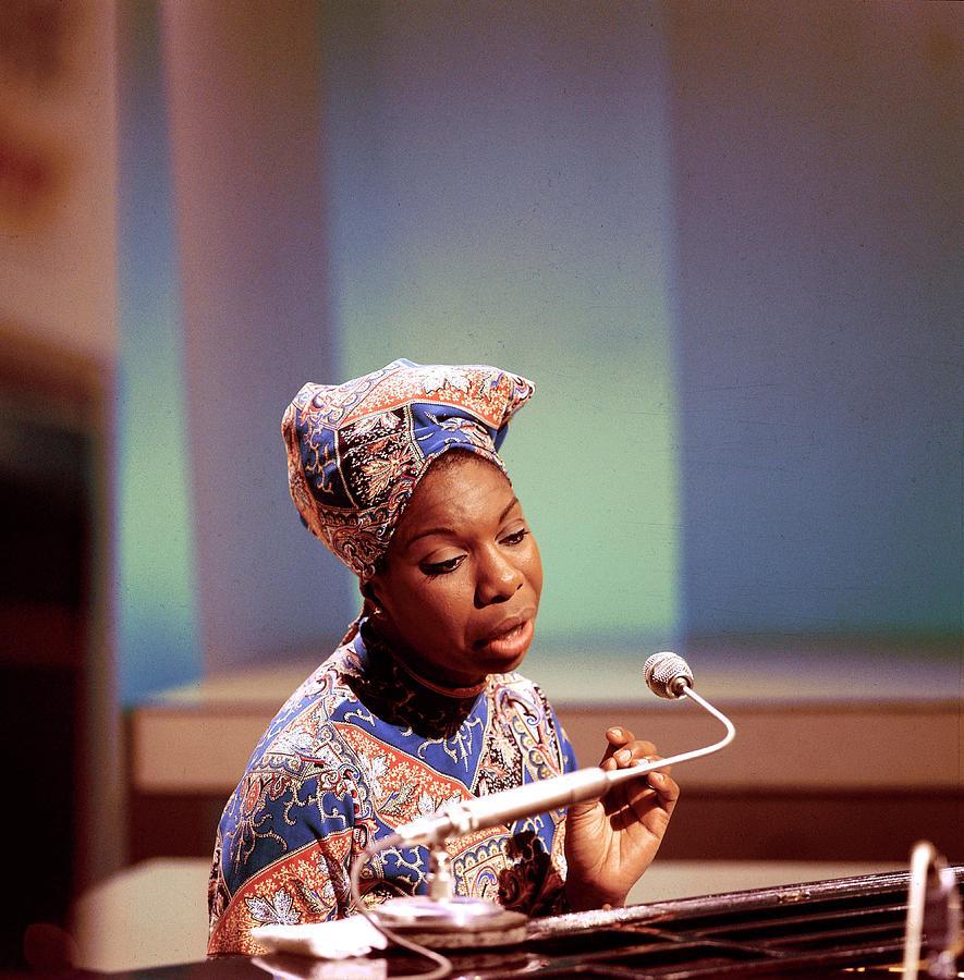 Photo Of Nina Simone Photograph by David Redfern