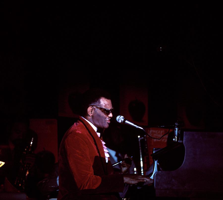 Photo Of Ray Charles Photograph by David Redfern