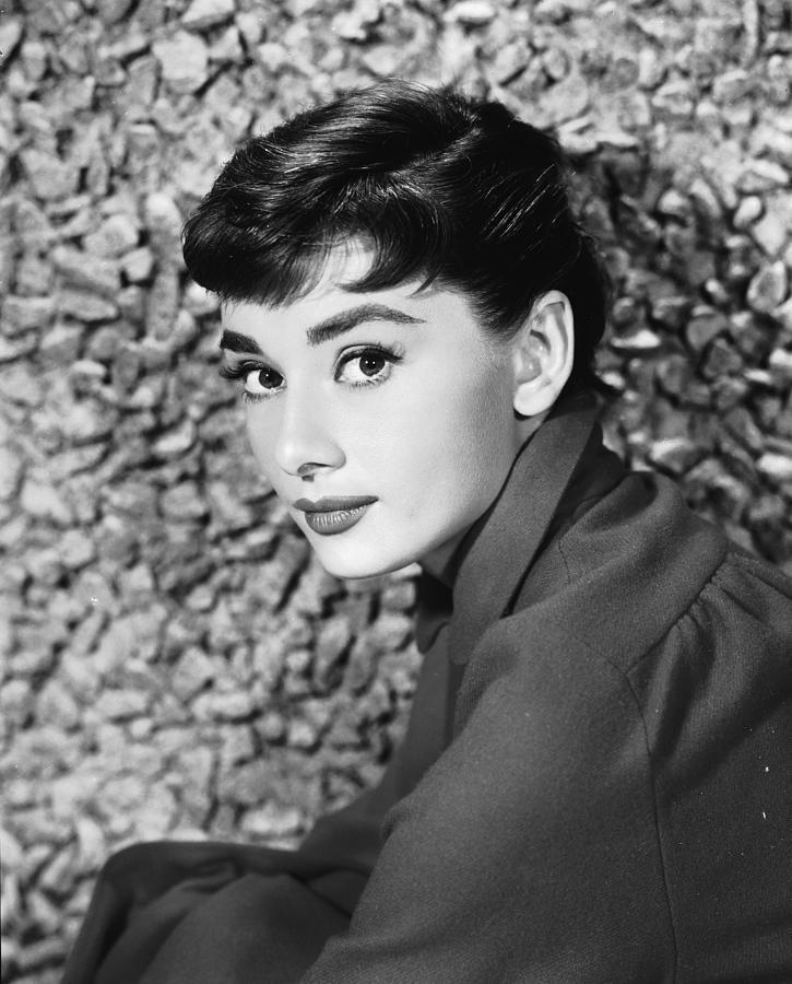 Portrait Of Audrey Hepburn Photograph by Hulton Archive