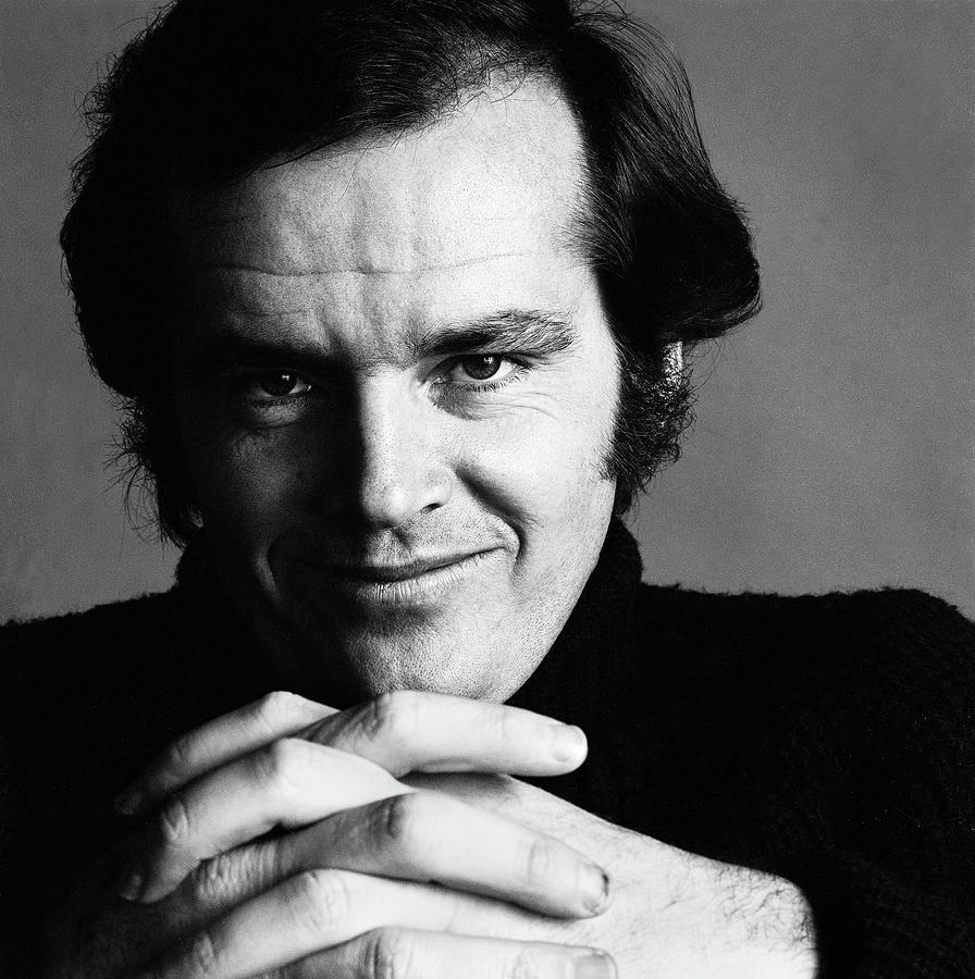 Portrait Of Jack Nicholson Photograph by Jack Robinson