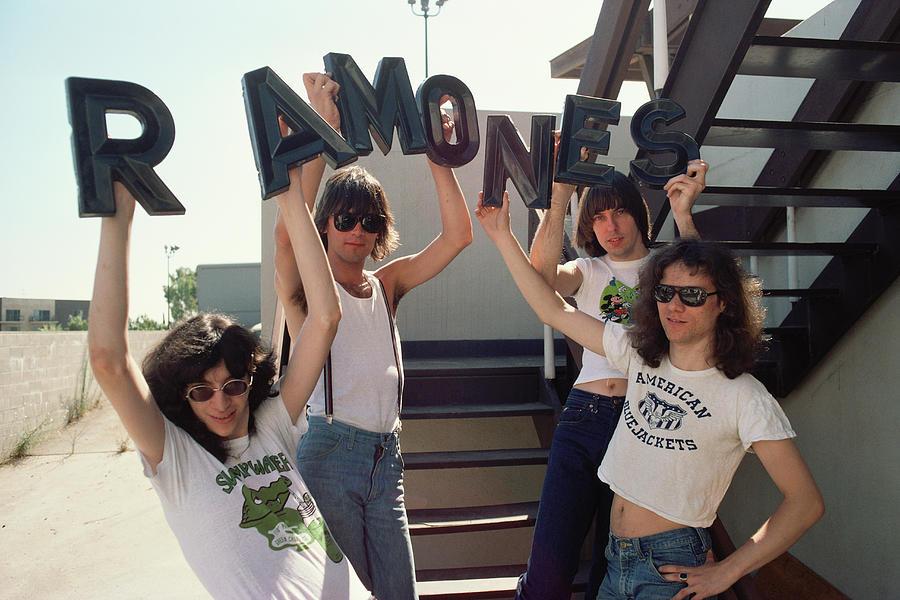 Ramones Portrait Session In La Photograph by Michael Ochs Archives