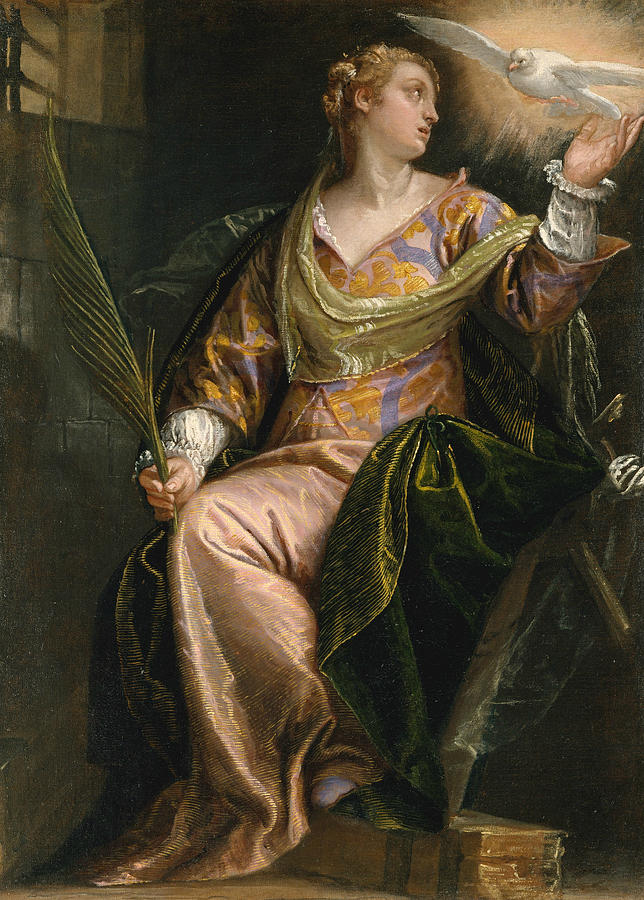 Saint Catherine of Alexandria in Prison by Paolo Veronese