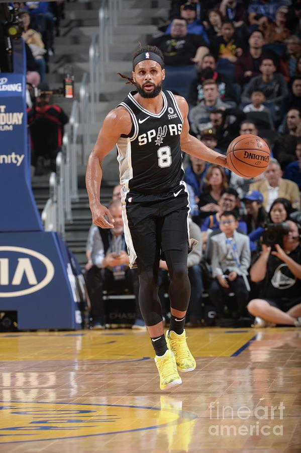 San Antonio Spurs V Golden State Photograph by Noah Graham