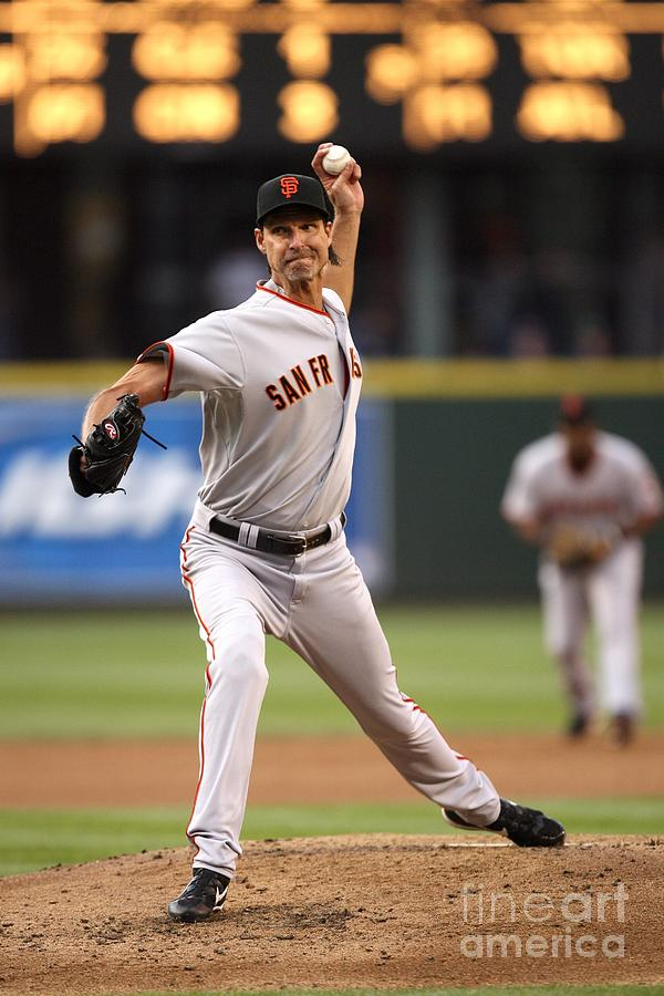San Francisco Giants V Seattle Mariners Photograph by Otto Greule Jr