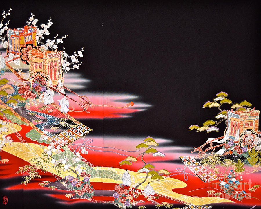 Spirit of Japan T81 Tapestry - Textile by Miho Kanamori