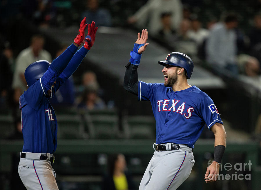 Texas Rangers V Seattle Mariners 5 Photograph by Stephen Brashear