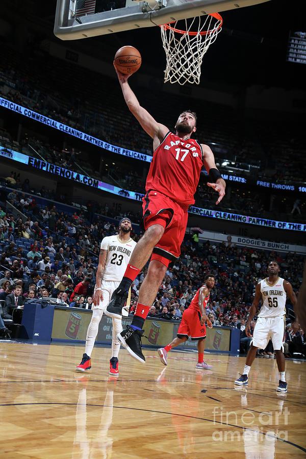 Toronto Raptors V New Orleans Pelicans Photograph by Layne Murdoch Jr.