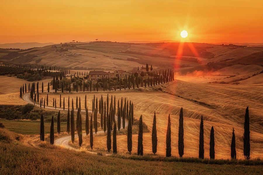 Asciano Photograph - Tuscany - Italy 5 by Joana Kruse