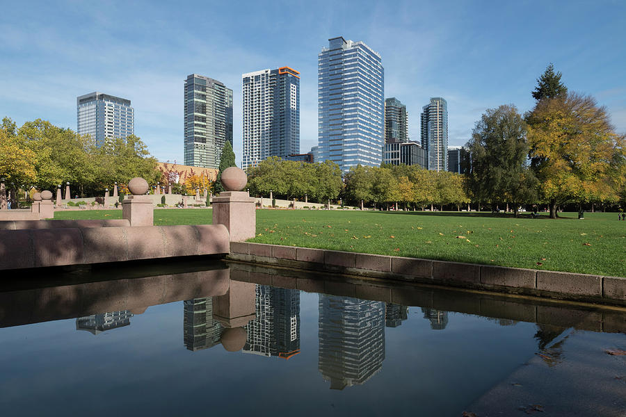 Bellevue Photograph - Usa, Washington State, Bellevue by John and Lisa Merrill