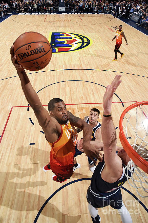 Nba Photograph - Utah Jazz V Denver Nuggets 5 by Garrett Ellwood