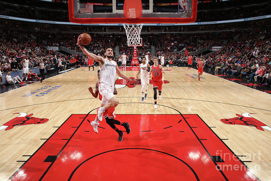 Washington Wizards V Chicago Bulls Photograph by Gary Dineen