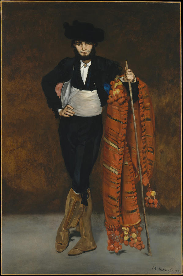 Edouard Manet Painting - Young Man In The Costume Of A Majo  by Edouard Manet