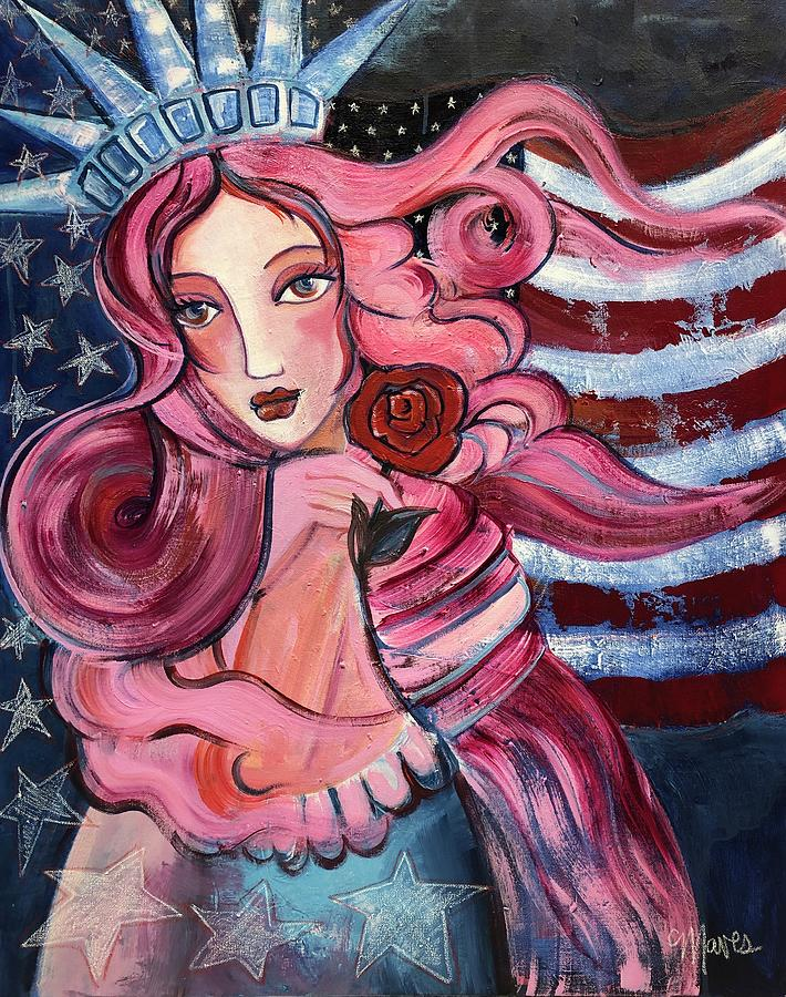 50 Stars for Venus by Laurie Maves ART