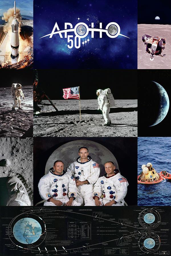Resultado de imagen para 50 YEARS APOLO 11