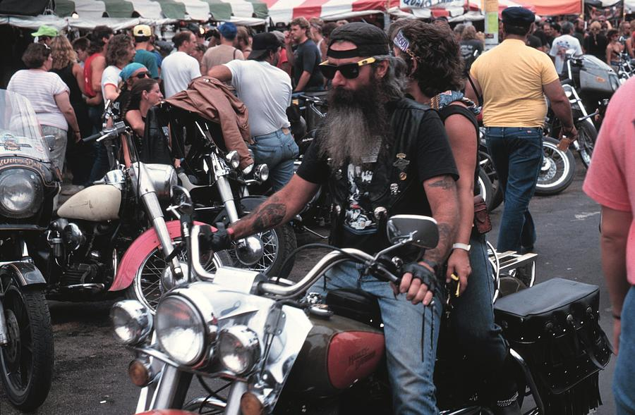 50th Anniversary Of The Sturgis Photograph by Jim Steinfeldt