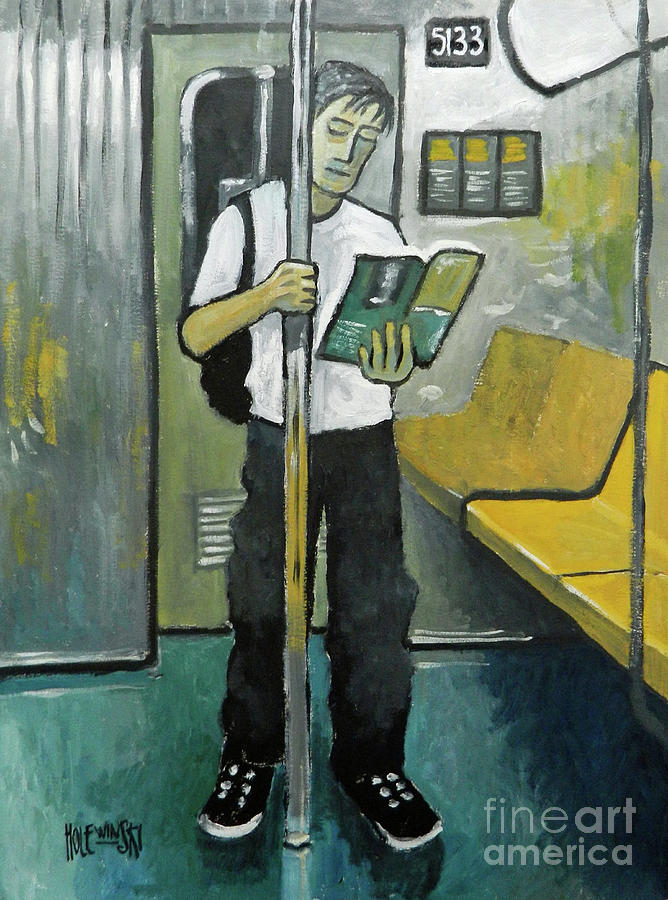 Subway Painting - 5133 by Robert Holewinski
