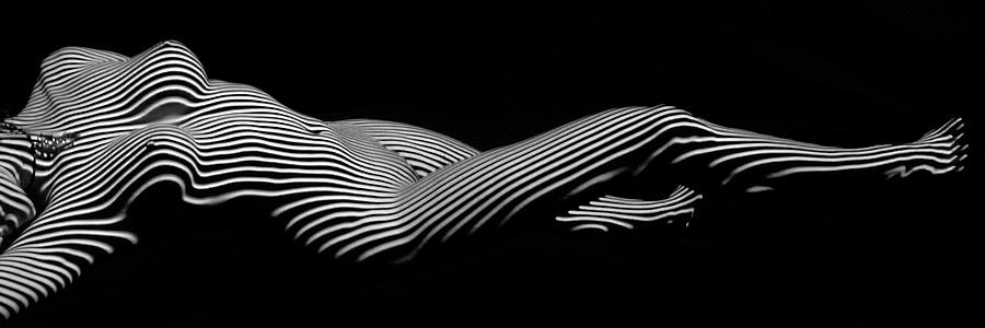 5298 Zebra Woman H by Chris Maher