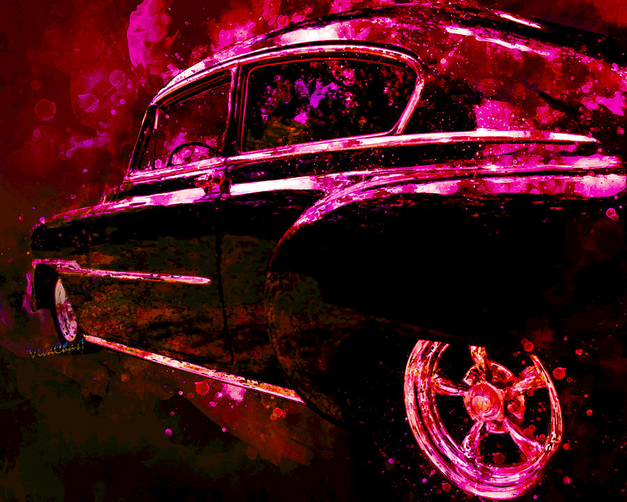 53 Classic Chevy Sedan Former Leader of the Band by Chas Sinklier
