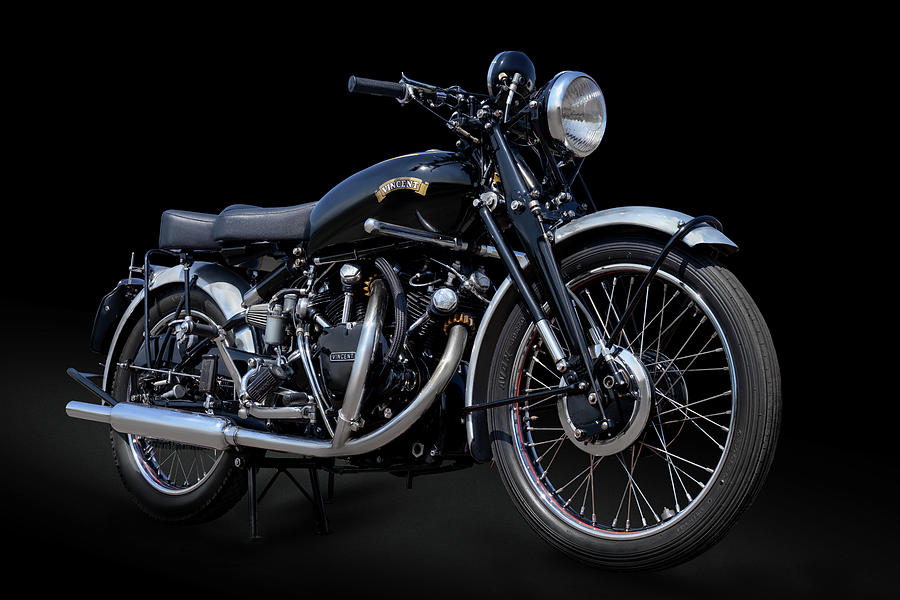 53 Vincent Black Shadow by Andy Romanoff