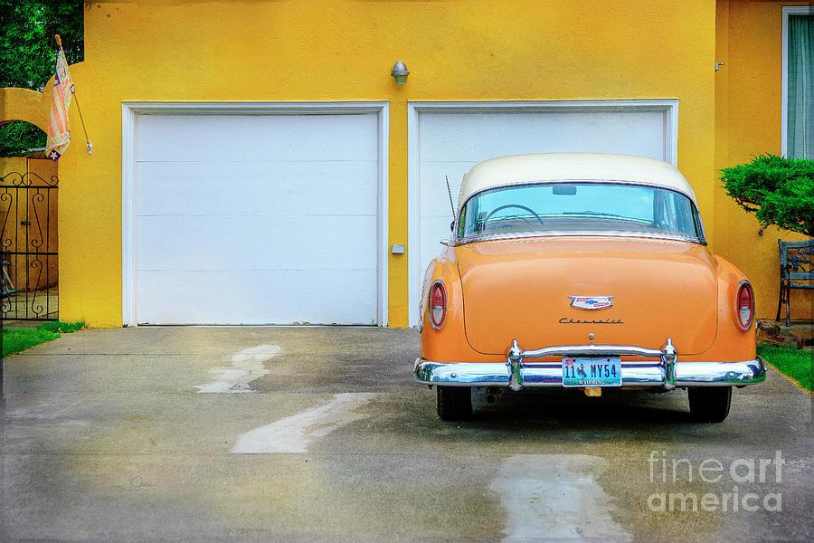 54 Belair Chevrolet by Craig J Satterlee