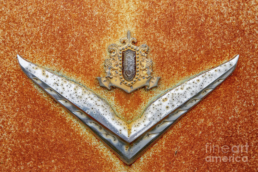 54 Chrysler New Yorker Emblem by Kevin Anderson