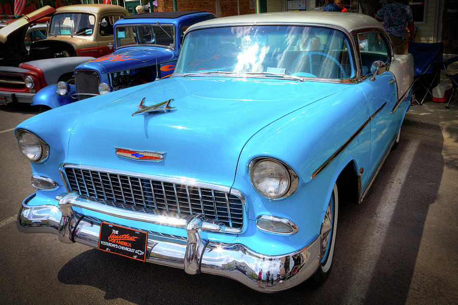 55 Chevy by David Patterson