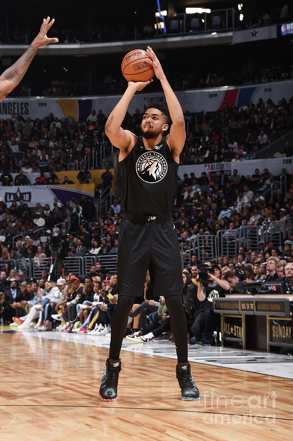 2018 Nba All-star Game Photograph by Andrew D. Bernstein