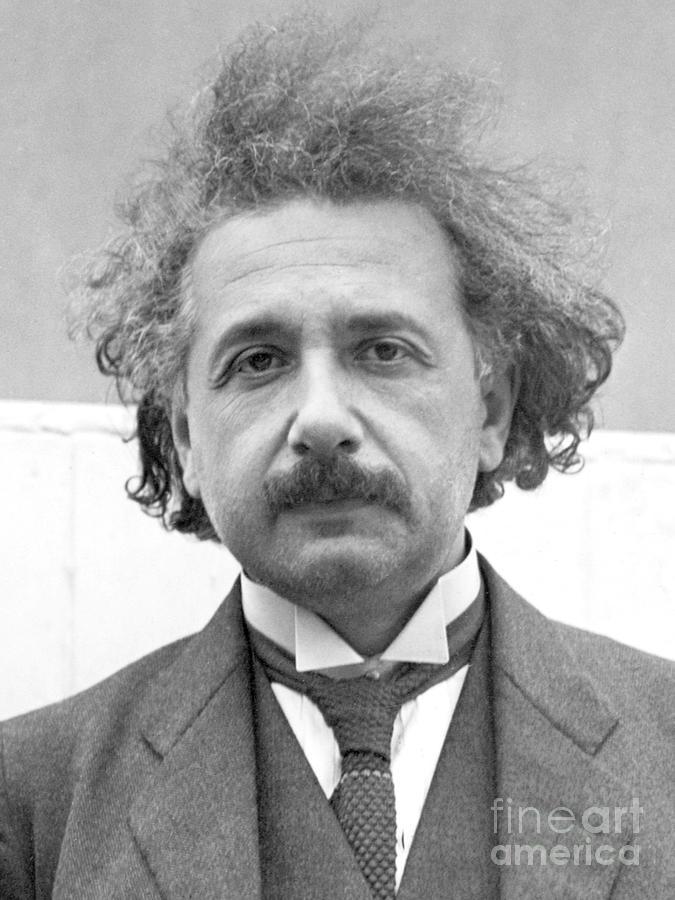 Albert Einstein Photograph by Bettmann