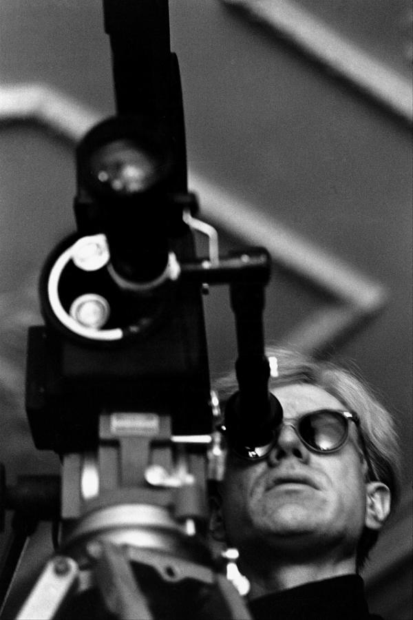 Andy Warhol In New York, United States Photograph by Herve Gloaguen