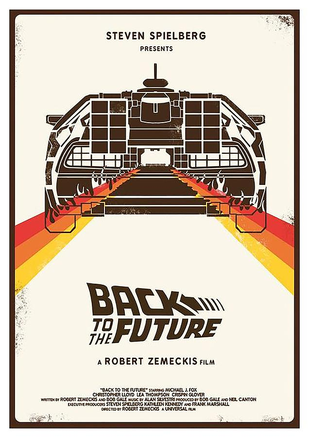 Back To The Future Digital Art - Back To The Future  by Geek N Rock