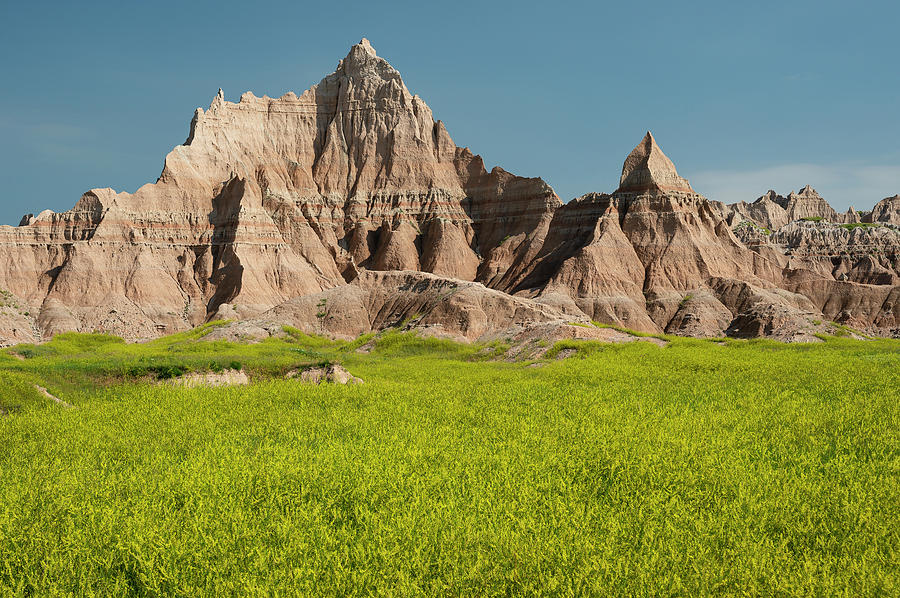 North America Photograph - Badlands by Christian Heeb