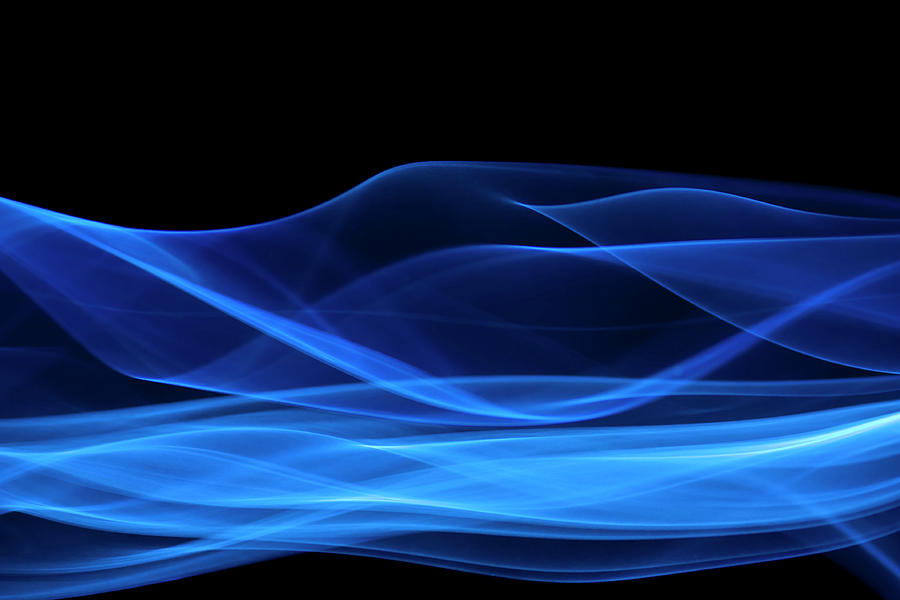 Blue, Creative Abstract Vitality Impact Photograph by Tttuna