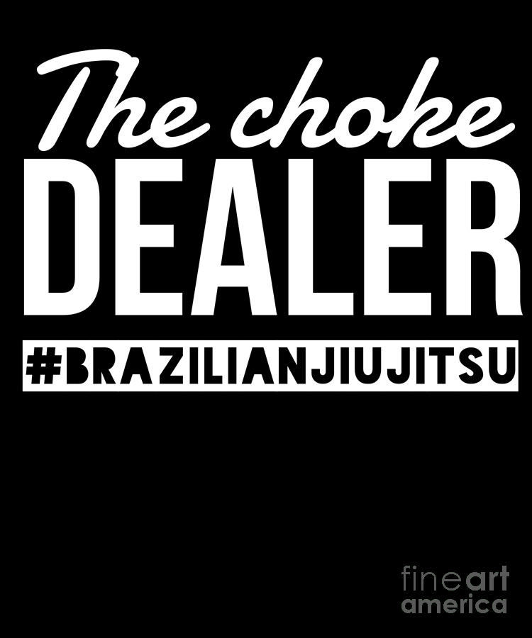Brazilian Jiu Jitsu Gift Bjj Martial Arts Grappling And Wrestling Fans Digital Art By Martin Hicks