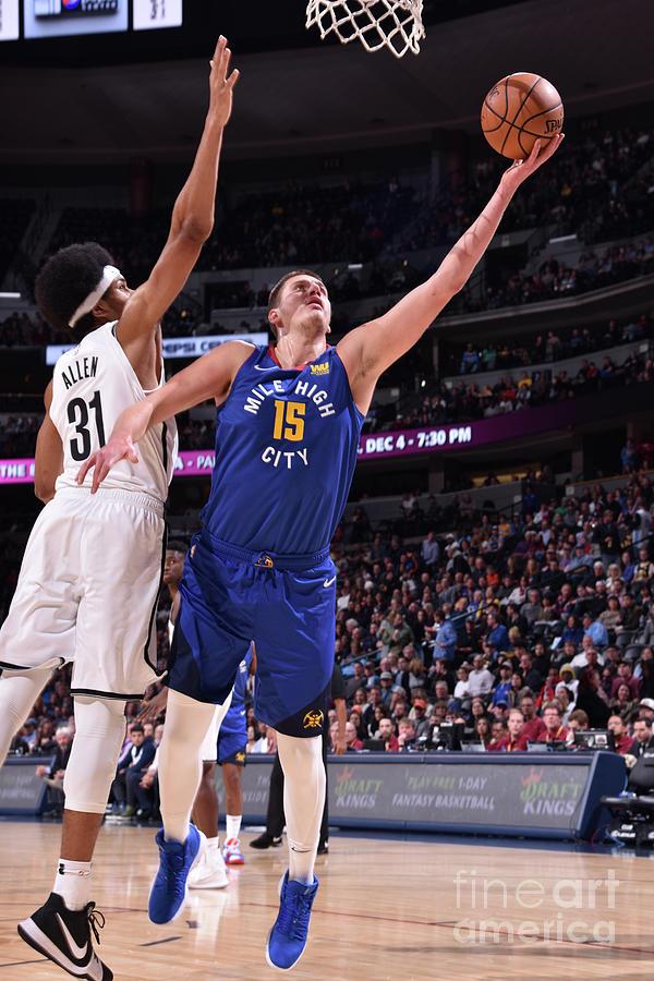 Brooklyn Nets V Denver Nuggets Photograph by Garrett Ellwood