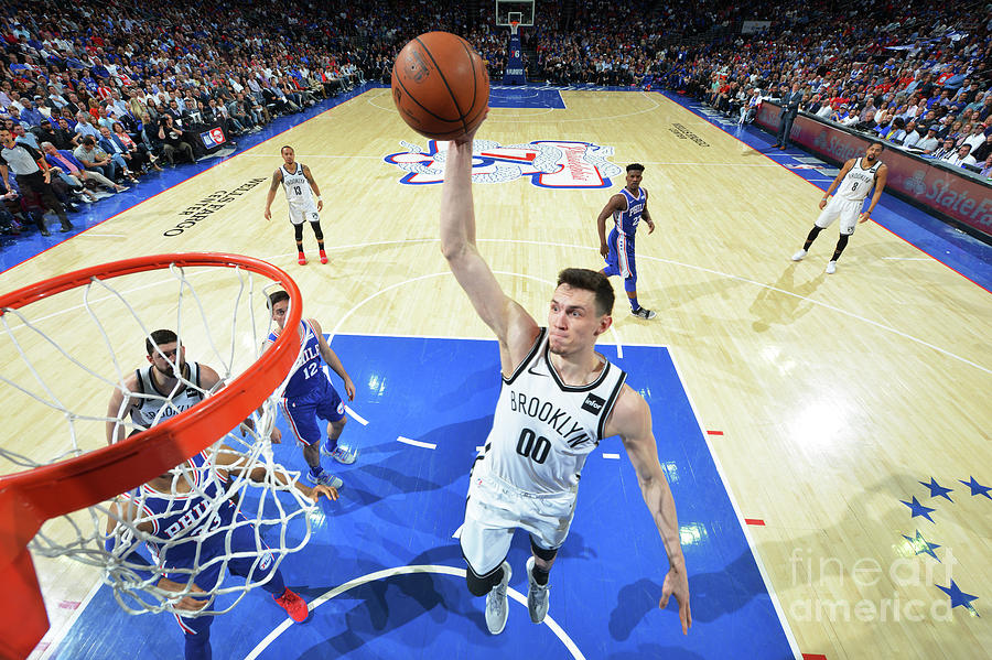 Brooklyn Nets V Philadelphia 76ers - Photograph by Jesse D. Garrabrant