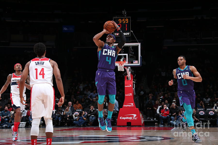 Charlotte Hornets V Washington Wizards Photograph by Ned Dishman