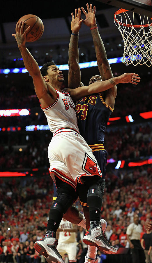 Cleveland Cavaliers V Chicago Bulls - Photograph by Jonathan Daniel