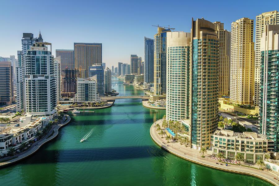 Dubai Marina Photograph