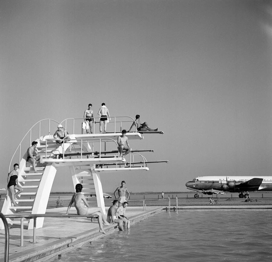 Ezeiza Airport, Argentina Photograph by Michael Ochs Archives