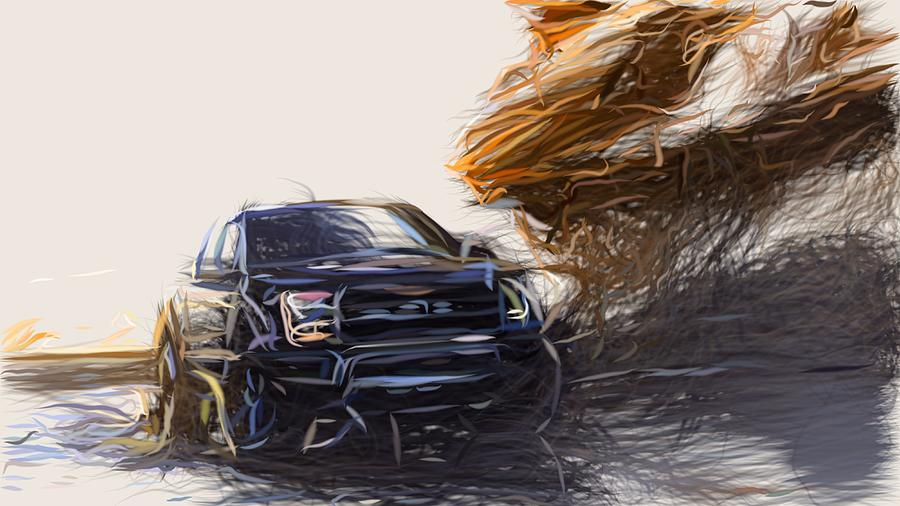 Ford F 150 Raptor Drawing